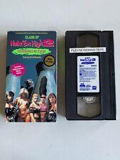 VHS Class of Nuke Em High 2 Subhumanoid Meltdown 1991 Troma Brick Bronsky