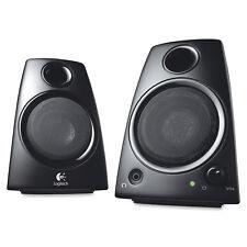 Logitech Z130 2 Piece Multimedia Stereo PC, Laptop Computer Speakers 980-000417