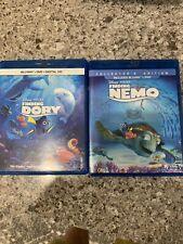 Finding Nemo Blu-Ray + Dvd & Finding Dory Blu-Ray + Dvd + Digital Hd