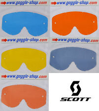 SCOTT Goggle 89 90 87 Series S Competition Tearoff Tear Off 55-6098 09-0073-0-0