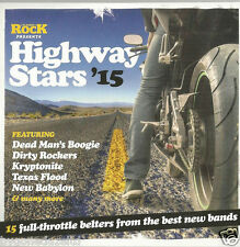 HIGHWAY STARS'15 -  CLASSIC ROCK MAGAZINE 15 TRACK PROMO (FREE UK POST)