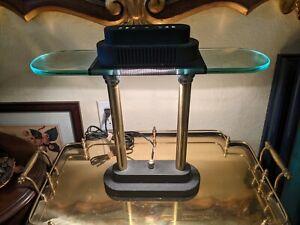 VINTAGE Robert Sonneman Desk Bankers Lamp George Kovacs Memphis Style Postmodern