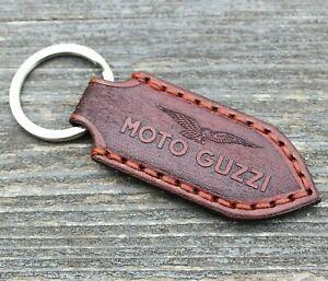 Moto Guzzi logo, Moto Guzzi keychain, biker keychain, motorcycle accessories.