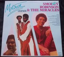 SMOKEY ROBINSON & THE MIRACLES Motown Legends LP