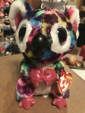 Ty Scout -Multicolor Rainbow/Purple Spotted Koala 6� Beanie Boo! *New Exclusive*