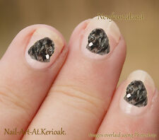 Newfoundland, Newfie, 24 Unique Designer Dog Nail Art Stickers