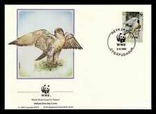 Iceland 1992 FDC, Gyrfalcon. 10kr. WWF. Nature. Maxi Card. Lot # 2.