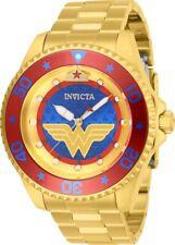 Invicta 27137 DC Comics Men's 47mm Automatic Gold-Tone Blue Dial Watch