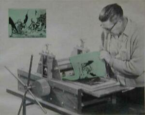 Manual Printing Press Table Top 1966 HowTo build PLANS Block Lithograph Halftone