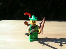 LEGO Robin Hood Forestman Minifigure 8683 Series 1 (used w/extra accessories)