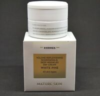 Korres White Pine Day Cream All Skin Types 40 Ml /1.35 Fl Oz Mature Skin