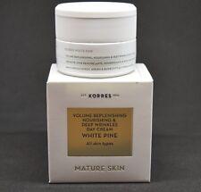 Korres White Pine Day Cream All Skin Types 40 Ml /1.35 Fl Oz Mature Skin