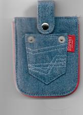 Esprite - kleine Jeanstasche mit Druckknopfverschluß - Neu