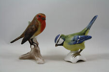 Goebel Robin and Blue Titmouse Bird Figurines
