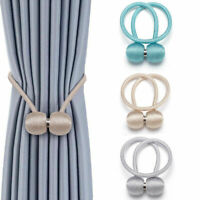 2 Pack Strong Magnetic Ball Curtain Tiebacks Tie Backs Buckle Clips Holdbacks