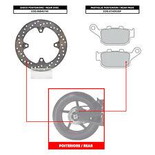 BREMBO REAR DISC (+ BRAKE PADS) - HONDA CBR R ABS 250 (FROM 2011) - 68B40740