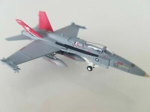 """HERPA 1:200 SCALE DIECAST US NAVY """" F/A -18C HORNET VFA-131 WIOLDCATS """" 554169"""
