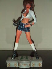 CLAYBORN MOORE New!! WITCHBLADE Blue Skirt STATUE By  Marc Silvestri Bust FIGURE