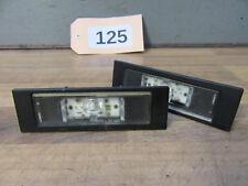 2x LED KENNZEICHENLEUCHTEN Original + BMW 1er E81 E87 F20 F21 Z4 E89 + 7193294