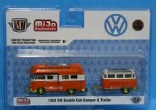 M2 Machines MiJo - 1959 Volkswagen Double Cab Camper & Trailer Limited / CHASE