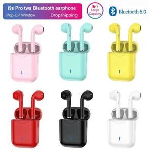 TWS Pro Wireless Headphones Bluetooth Earphone In-Ear pods Stereo Earbud Headset