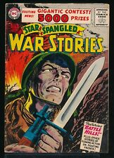 STAR SPANGLED WAR STORIES No. 48 1956 DC Comic Book BATTLE HILLS 4.5 VG+