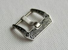 Edle Schließe Buckle 20mm f. Staps Uhrenbänder Lederbänder