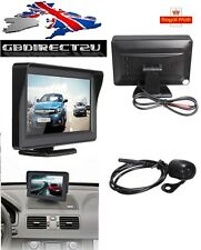 NEW 2017 UK 4.3Inch TFT LCD Van Rear View Monitor + Night Vision Reverse Camera