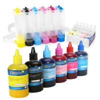 CISinks Continuous Ink System Sublimation Compatible for Epson Stylus 1430 1400