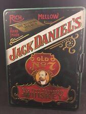 VINTAGE JACK DANIELS OLD NO. 7 WHISKEY POKER SET,CARDS,CHIPS,TIN