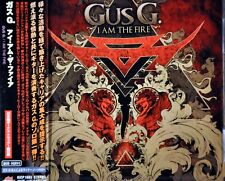 Gus G. I Am The Fire + 1 BONUS Track JAPAN Plastic Case CD KICP-1683 NEW