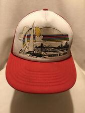 Vtg Vancouver B.C. British Columbia Canada Foam Mesh Snapback Hat Cap