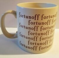 VINTAGE FORTUNOFF MUG CERAMIC JAPAN ICONIC STORE LONG GONE GREAT CONDITION