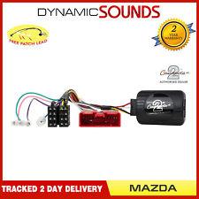CTSMZ002 Steering Wheel Control Stalk Adaptor FREE PATCH LEAD For MAZDA 2, MX-5