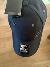 Starter Black Label 6 Panel Cap Triple Black New With Tags