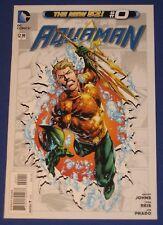 DC Aquaman #0 Comic Book 2012 NM 1st Print New 52 Movie Geoff Johns Ivan Reis