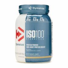 Dymatize ISO 100 Hydrolyzed Whey Protein Isolate Birthday Cake - 1.6 lbs