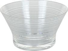 6 Acrylic Plastic Ice Cream Dessert Bowls Modern Line Design Party & Weddings