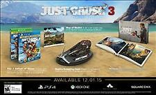 NEW Just Cause 3 -- Collector's Edition (Sony PlayStation 4, 2015)