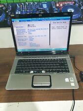 E246 HP Pavillion Entertainment laptop DV6500 core 2 duo t5250 2Gb RAM bios test