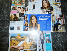 MILA KUNIS  14  TEILE/PARTS CLIPPING   0716