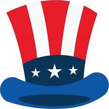 30 Custom USA Uncle Sam Hat Personalized Address Labels