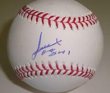Alexi Ogando Signed Baseball w/COA Texas Rangers