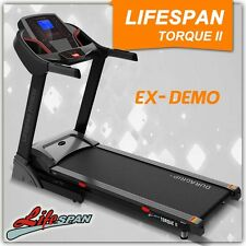Lifespan Electric Gym Treadmill Demo TorqueII