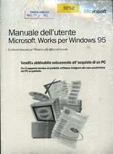 800.11 - MICROSOFT WORKS per windows 95 (licenza originale)