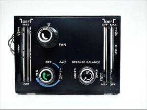 72-77 MERCEDES 450SL R107 CLIMATE CONTROL 3 KNOB 450SLC 350SL 280SL AC HEATER 4