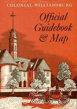 Various Contributors COLONIAL WILLIAMSBURG OFFICIAL GUIDEBOOK & MAP Paperback BO