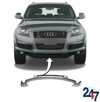 NEW AUDI Q7 4L 2005 - 2009 FRONT BUMPER LOWER CENTER SPOILER LIP COVER TRIM