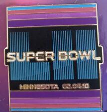 "Super Bol 52 Lii "" Rayé "" Broche Football NFL Philadelphia Eagles Champs"