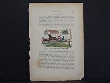 Horses, c.1890 Simple Form of Breaking Rig #23